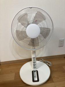 扇風機の修理を致しました!