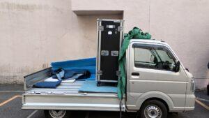 法人さんの荷物搬入お手伝いを致しました!【広島市中区】