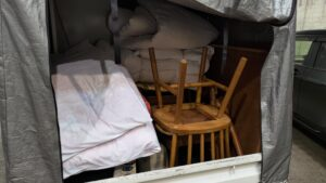 大型家具を沼田廃棄場まで同伴ありで持っていきました!【広島市安佐南区】