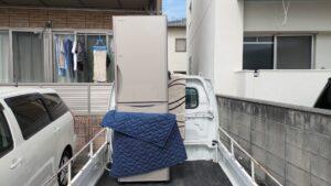 冷蔵庫の運搬を行いました!【広島市安佐南区】