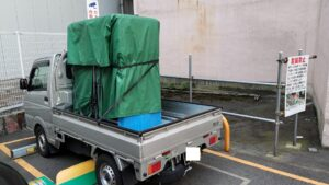 大型荷物の積み下ろしをお手伝いを致しました【広島市中区 法人】