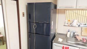 冷蔵庫同士の入れ替え作業をしました【広島市佐伯区】
