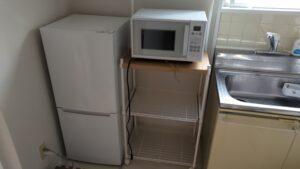 冷蔵庫と家具の移動をお手伝いを致しました【広島市中区】