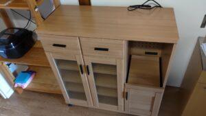 家具の組み立てを代行しました【広島市東区】